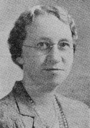 Dr. A. (Ada) Dorothy Turville 1895-1975