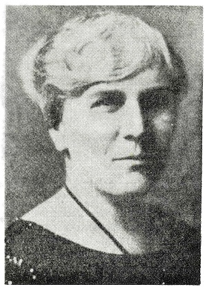Dr. Margaret Stovel McWilliams 1875-1952
