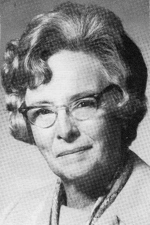 Dr. Gwendolyn McDonald Black, O. C. 1911-2005