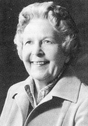Dr. Jean Battersby Steer 1912-1982