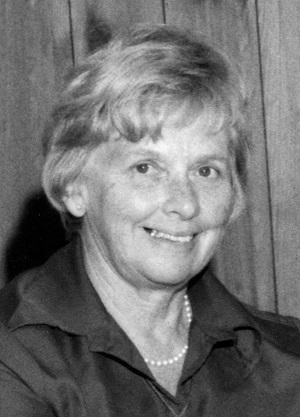 Dr. Margaret Addison Strongitharm, C. M. 1916-2008